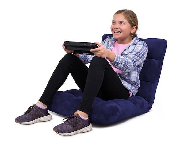 Bird Rock Gaming-Schaumstoff-Sessel blau