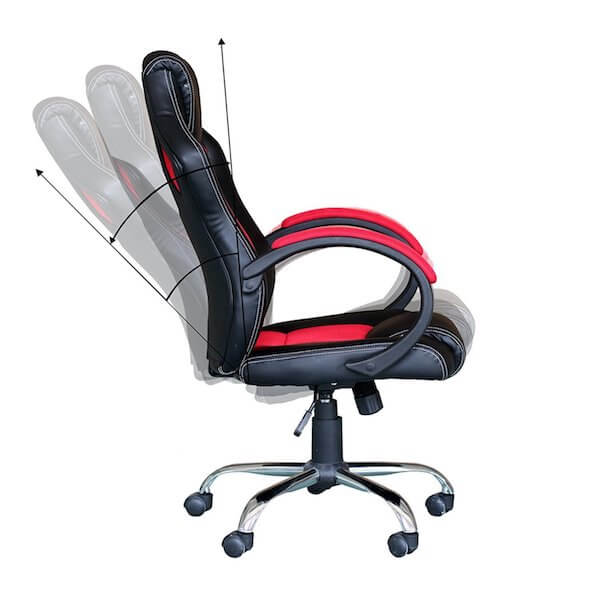 Funktionen des EBS Racing Bürostuhl