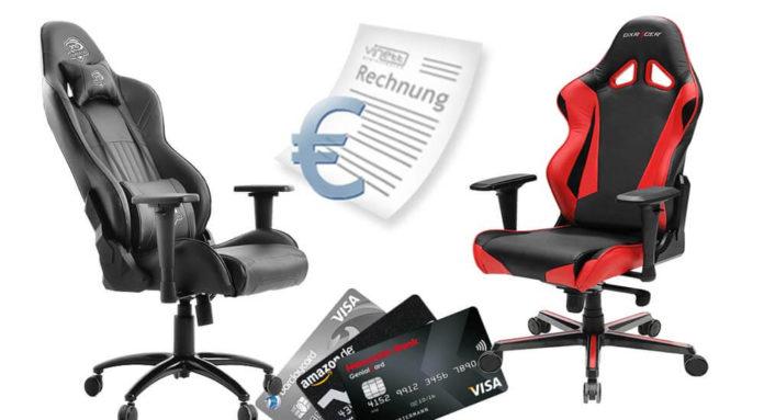 Gaming Stuhl Auf Rechnung Kaufen So Einfach Geht Es