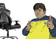 Gaming Stuhl für Leute mit 150kg Gewicht