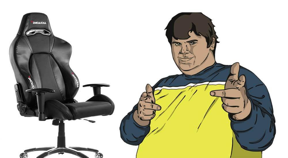 gaming stuhl f r leute mit 150kg die besten modelle. Black Bedroom Furniture Sets. Home Design Ideas