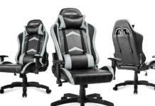 Unser Merax Gaming Stuhl Test