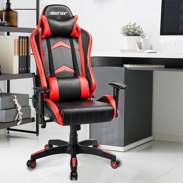 Verarbeitung und Qualität des Merax Gaming Stuhl