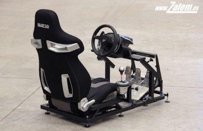 Erfahrungen und Test des Racing Sessel  mit Lenkrad