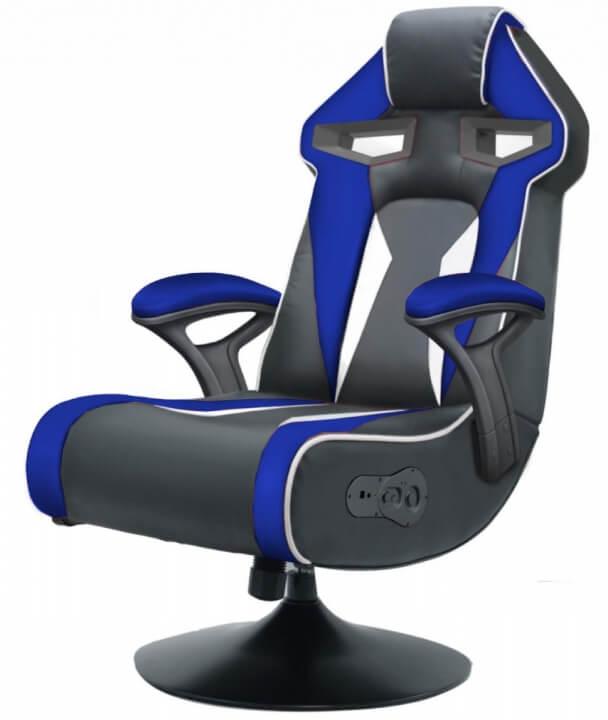 WOHNLING Soundchair SPECTER II blau schwarz